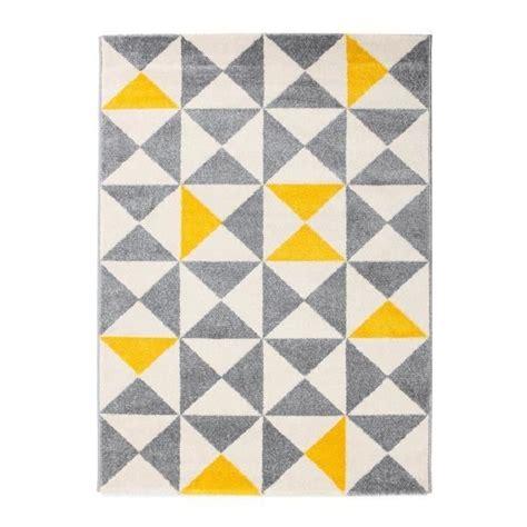 rideau fenetre cuisine tapis jaune achat vente tapis jaune pas cher cdiscount
