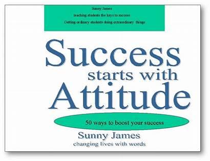 Attitude Success Positive Teamwork Starts Quotes Delightful