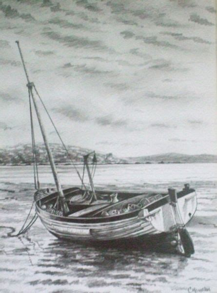 Boat In Drawing by Lobster Boat Drawing Www Pixshark Images Galleries
