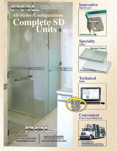 Complete Shower Units by Complete Shower Door Units Prl Architectural Glass And