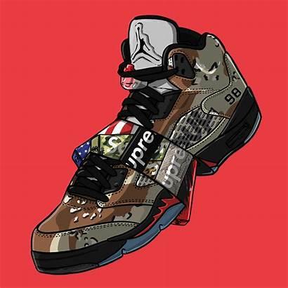 Sneaker Dope Supreme Wallpapers Cartoon Naruto Bape