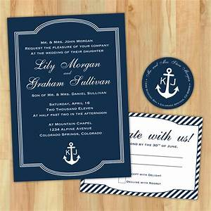 diy nautical wedding invitation suite custom printable With nautical chart wedding invitations