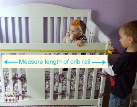 diy crib rail cover no sew fleece teething crib rail cover tutorial