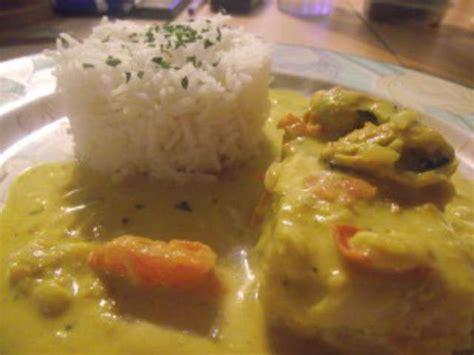 colin cuisine recettes de colin et curry