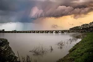 Storm, Clouds, Over, The, Dusk, Lake, Landscape, Image, -, Free, Stock, Photo, -, Public, Domain, Photo