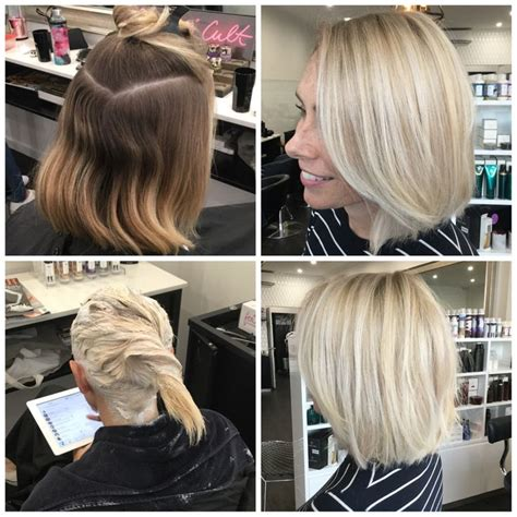 scalp bleach root shadow