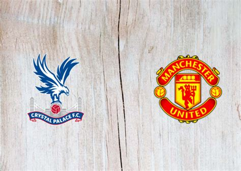 L l d w d. Crystal Palace vs Manchester United Full Match ...