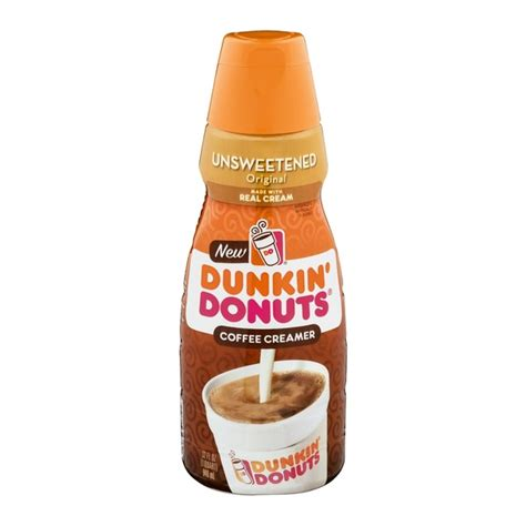 You can get the best discount of up to 90% off. Dunkin' Donuts Coffee Creamer Unsweetened (32 fl oz) - Instacart