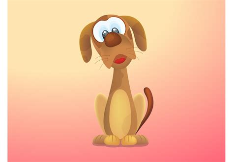 Cartoon Dog Free Vector Art