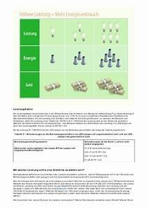 Leistung Watt Berechnen : elektrische leistung und watt ~ Themetempest.com Abrechnung