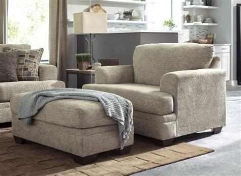 cozy grey reading chair with arm and ottoman home inspiring