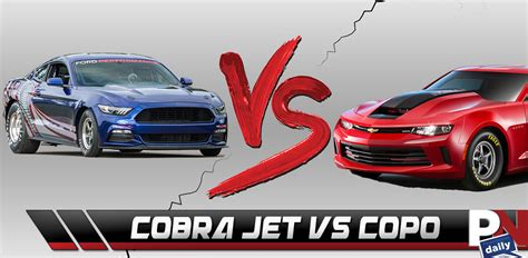 Copo Camaro Vs Cobra Jet by Copo Camaro Vs Cobra Jet Logano S Luck George Barris