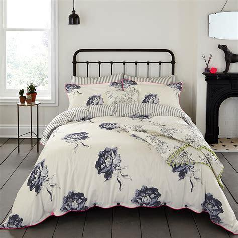 floral duvet cover buy joules monochrome regency floral duvet cover