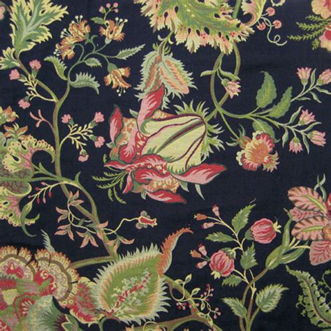 jacobean floral curtain fabric spencer black jacobean floral upholstery fabric 49471