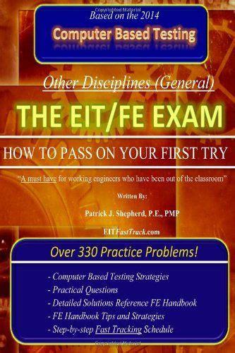 eit practice exam the eit fe exam quot how to pass on your first try quot fasttrack