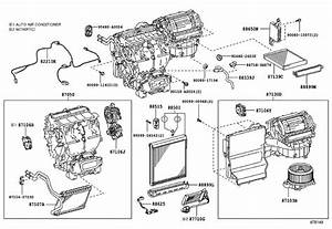 2010 Toyota Highlander Hvac Unit Case  Air  Assembly  Conditioning