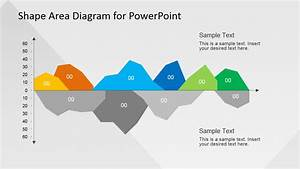 Infographics Area Chart Template For Powerpoint