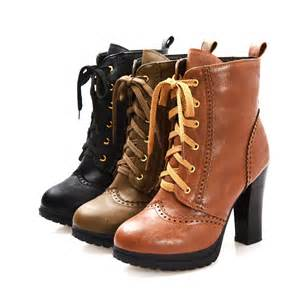 s lace up boots size 11 fashion platforms high heels lace up ankle boots 39 s vogue shoes size 5 11 us in