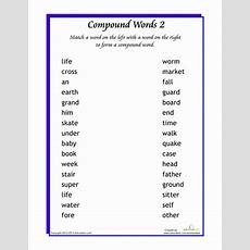 Word Addition Compound Words 1  Worksheet Educationcom