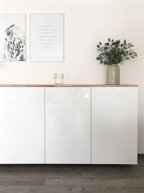 Ikea Küchenschrank Boden by Ikea Hack Metod K 252 Chenschrank Als Sideboard Wohnzimmer