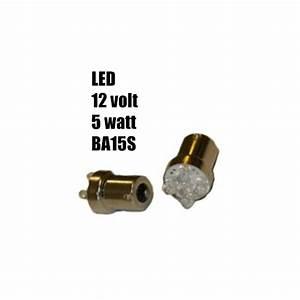 Ba15s Led 12v : led lampa 5 watt ba15s 12v rinab ~ Kayakingforconservation.com Haus und Dekorationen