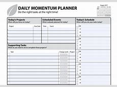 18 Free Printable Daily Planner Templates Ginva