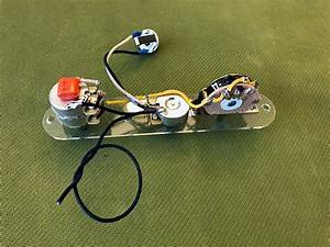Prewired Telecaster W   Tbx Tone Control Wiring Harness