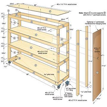 garage cabinet plans pdf diy woodworking plans garage shelves