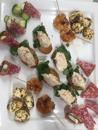 savoury canapes the smart of cookery is it worth visiting see