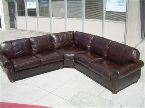 thomasville leather sofa with chaise thomasville sectional sofas