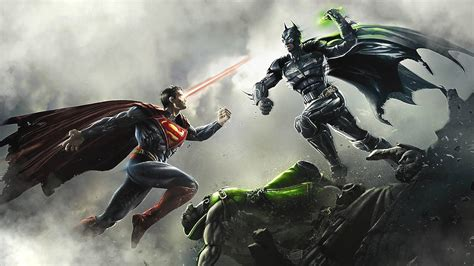 Superman Vs Batman Hd Desktop-hintergrund