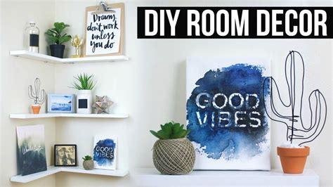diy floating shelves room decor inspired