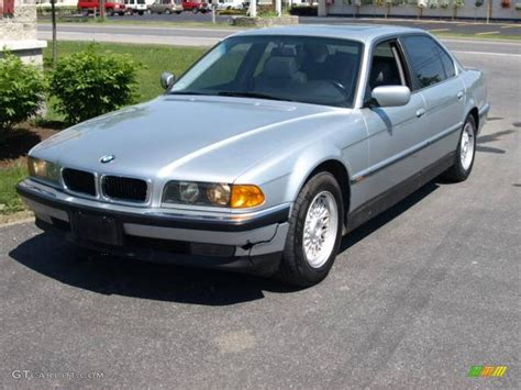 1998 Bmw 740il by 1998 Arctic Silver Metallic Bmw 7 Series 740il Sedan
