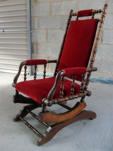 american beechwood turned rocking chair 102519