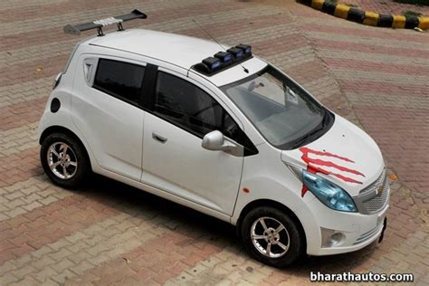 Modified Beat Car Photos by Rahul Modifies His Chevrolet Beat Calls It The Exquisite