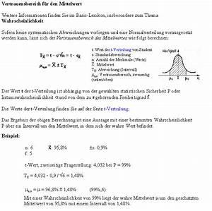Basis Berechnen : vertrauensbereich f r den mittelwert ~ Themetempest.com Abrechnung