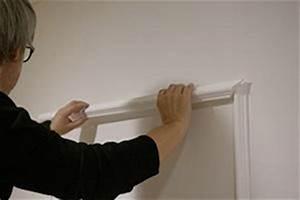Stuckleisten Anbringen Auf Tapete : stuckleisten anbringen und spachteln das tapetenbild video anleitung ~ Orissabook.com Haus und Dekorationen