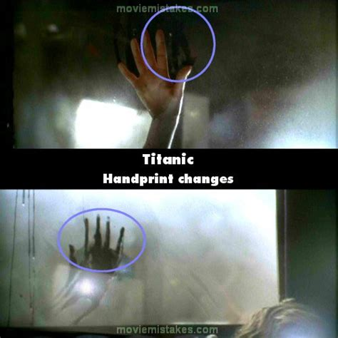 titanic  mistake picture