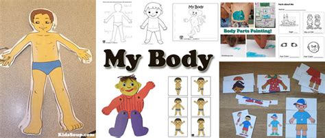 all about me kidssoup 354 | My Body Activities Lesson preschool