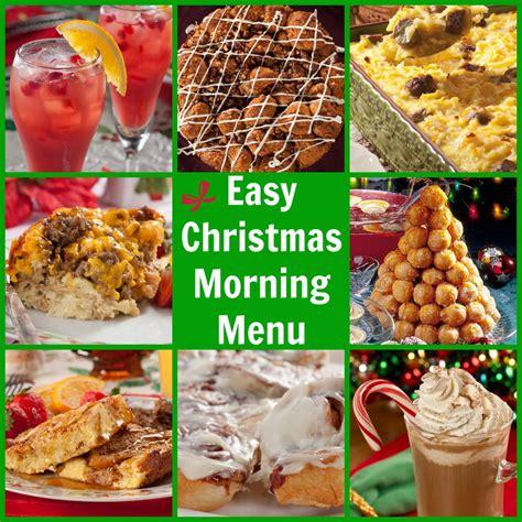 christmas morning breakfast menu easy christmas morning menu christmas breakfast ideas mrfood com