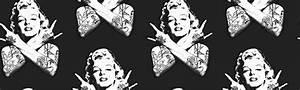 Thug Marilyn Wallpaper - WallpaperSafari
