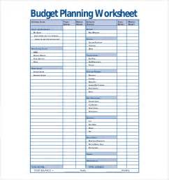 personal budget planner template
