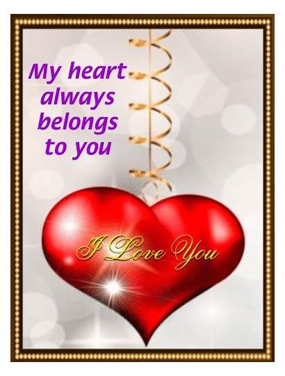 Heart Always Belongs Gifs Special Giphy Greetings