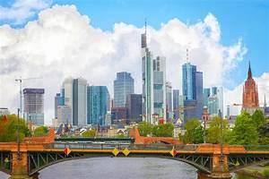 Skyline Frankfurt Bild : frankfurt panorama bild mit der stadt skyline auf leinwand und acryl ~ Eleganceandgraceweddings.com Haus und Dekorationen