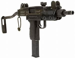Deactivated Mini Uzi