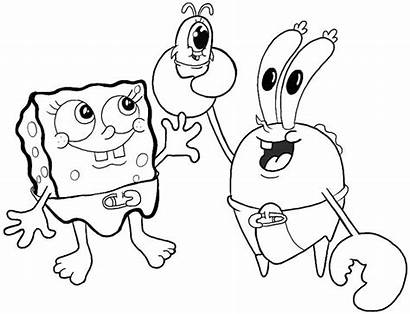 Spongebob Krabs Mr Plankton Squarepants Drawing Draw