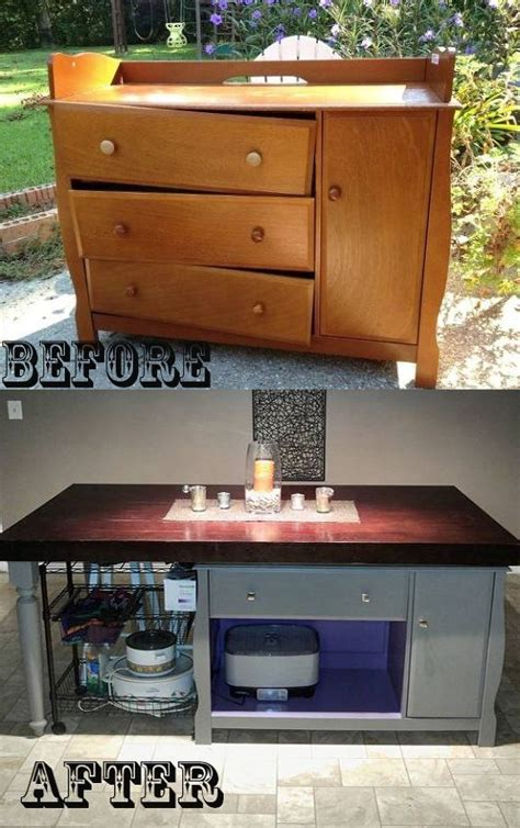 changing table   kitchen island shanty  chic