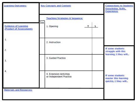 backwards planning template backward planning template updated backwards lesson planning template gt gt planning template