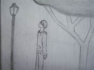 Boy Standing in the Rain by darkmoon3 on DeviantArt