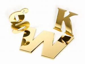 polished brass letters solid gold in any font woodland With 1 brass letters